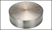 ROUND STAR-POLE TYPE ELECTROMAGNETIC CHUCK